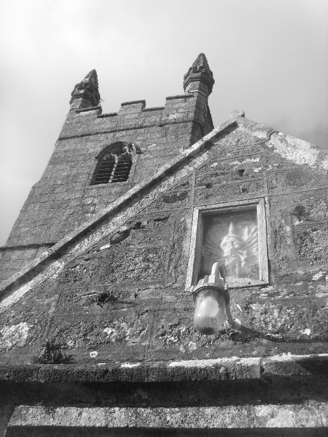 Sheepstor Church - Something about Dartmoor